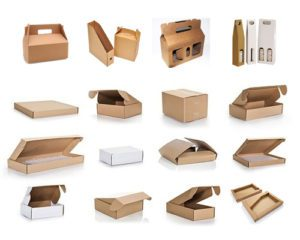 Corrugated Small Die Punched Boxes