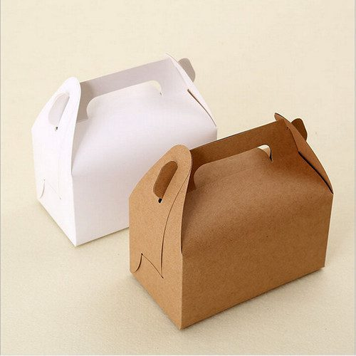 Duplex Pastry Box With Handle